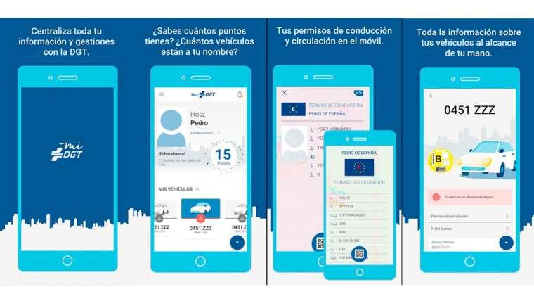 miDGT: qué hace esta app y cómo utilizarla para acceder a tus carnet de conducir y otros datos